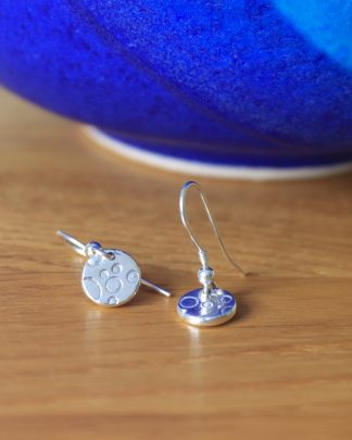 Bubble drop earrings - round/square