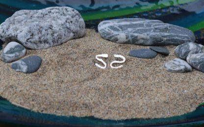Rip Tide eco stud earrings