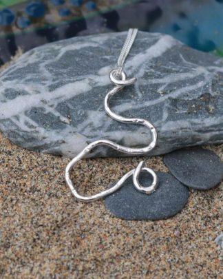 Rip Tide eco necklace